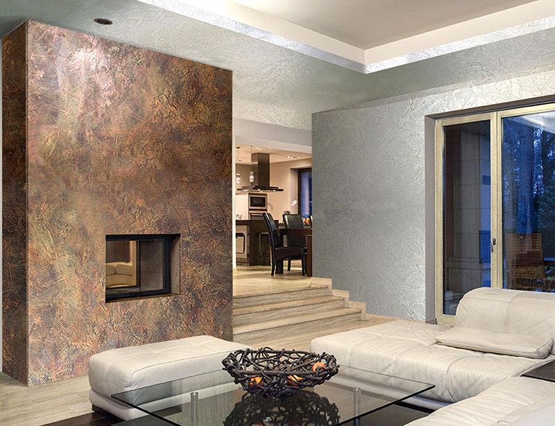 Pitture decorative tutti i tipi di pitture moderne e - Idee x imbiancare casa ...