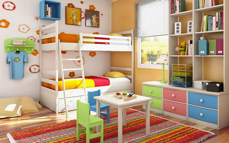 arredamento camerette idee arredamentoo : Camerette per bambini: idee e consigli per l?arredamento ...