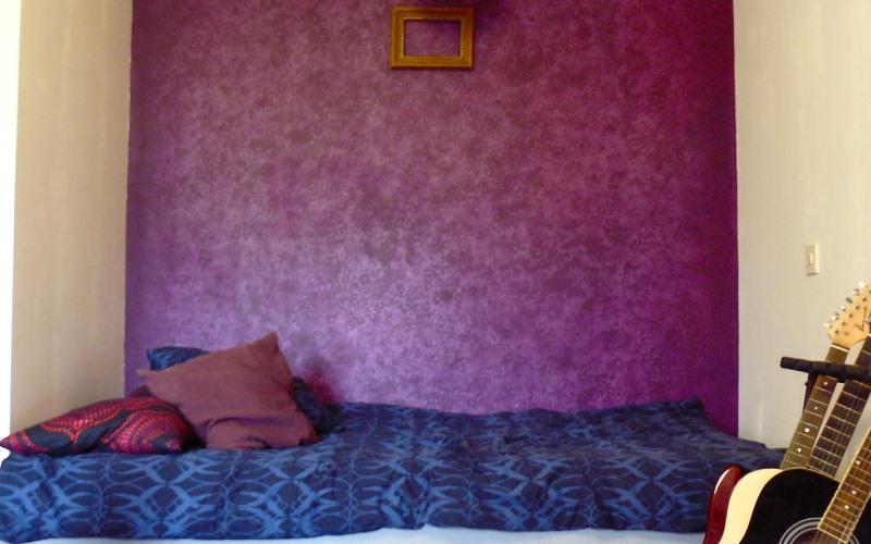 Idee per pitturare casa: la pittura effetto spugnato ...