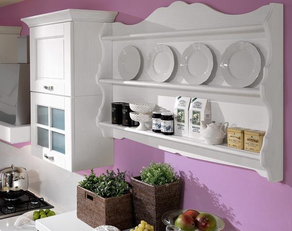 Arredare con le mensole in maniera divertente ed economica - Mensole per cucine ...