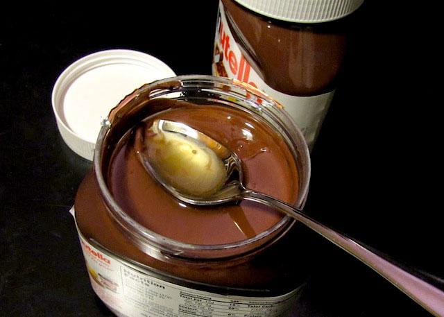 Olio di palma Nutella