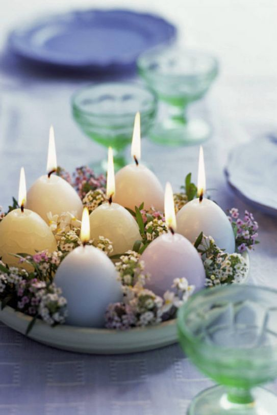 5 semplici idee fai da te per decorare la tavola di pasqua - Decorazioni pasquali uncinetto ...