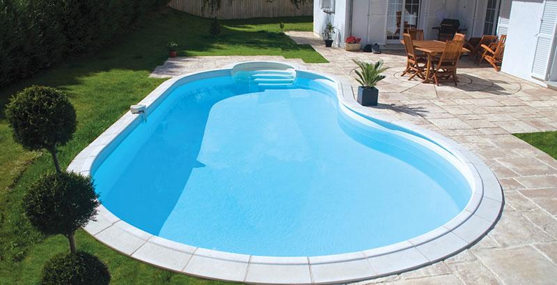 Costruire una piscina interrata in 5 semplici passaggi - Realizzare una piscina ...